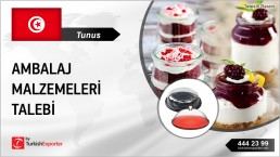 IMPORTATION OF PASTRY PACKAGINGS TO TUNISIA