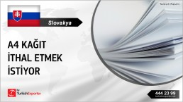 A4 COPY PAPER REGULAR IMPORT TO SLOVAKIA