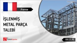 PURCHASING OF METALWORK PRODUCTS INQUIRY FROM FRANCE