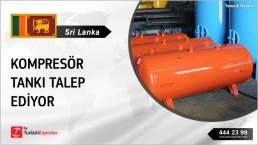AIR RECEIVER TANKS SUPPLYING TO SRI LANKA