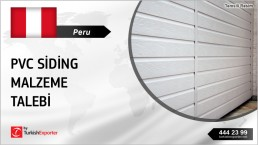 PVC FACADES OR CLADDING IMPORT TO PERU