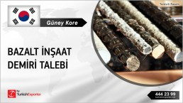 BASALT REBARS 100.000 TONS PRICE REQUEST FROM SOUTH KOREA