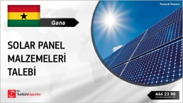 RAW MATERIALS FOR SOLAR PANELS MANUFACTURING IN GHANA
