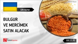 BULGUR AND RED LENTILS IN BAGS REQUIRED IN UKRAINE