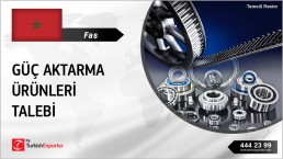 BEARINGS, V-BELTS, PULLEYS TO IMPORT TO MOROCCO