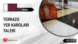 TERRAZZO FLOOR TILES REQUIRED FOR A PROJECT IN QATAR