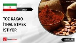COCOA POWDER IMPORT PRICE INQUIRY FROM IRAN