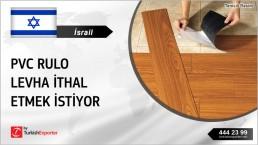 PVC FLOORING MATERIALS REGULAR IMPORT INQUIRY FROM ISRAEL