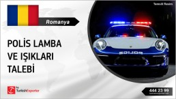 POLICE WARNING LIGHTS ALL KINDS EXPORT TO ROMANIA