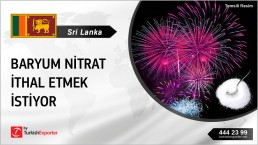BARIUM NITRATE REGULARLY NEEDED FOR FIREWORKS PRODUCTION IN SRI LANKA