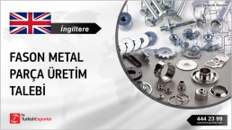 GALVANIZED METAL COMPONENTS TO BE SUPPLIED TO UNITED KINGDOM