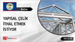 GALVANIZED STEEL STRUCTURES REGULAR IMPORT INQUIRY FROM BELIZE