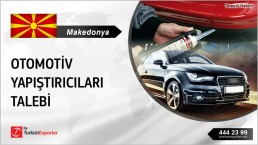 AUTOMOTIVE ADHESIVES AND SEALANTS TO IMPORT IN MACEDONIA