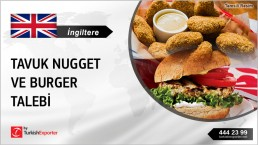 CHICKEN NUGGETS, BURGERS WHOLESALE IMPORT IN UNITED KINGDOM