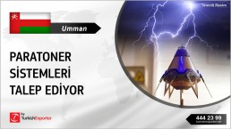 LIGHTNING PROTECTION PRODUCTS TO SUPPLY FROM TURKEY TO OMAN