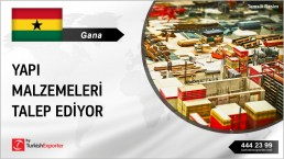 BUILDING FINISHING MATERIALS TO EXPORT FROM TURKEY TO GHANA