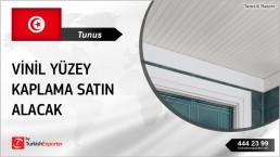 VINYL AND PVC PANELS SUPPLY FROM TURKEY TO TUNISIA