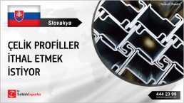 LIGHT STEEL CONSTRUCTION PROFILES IMPORT FROM TURKEY TO SLOVAKIA