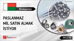 SUPPLYING MOUNTED ROLLER BEARING FROM TURKEY TO MADAGASCAR