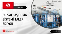 WATER PURIFICATION SYSTEMS REQUIRED IN TUNISIA