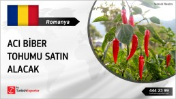 ROMANIAN COMPANY IN NEED OF SEEDS HOT PEPPER