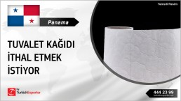 TOILET PAPERS TOWELS IMPORT FROM TURKEY TO PANAMA