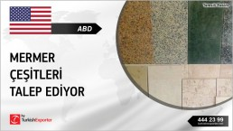 USA TO NEED TUMBLED MARBLE FROM TURKEY