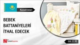 KAZAKHSTAN INTEREST ON BABY BIBS BLANKETS