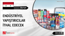 AUTOMOTIVE INDUSTRY ADHESIVES NEEDED IN SYRIA