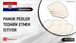 COTTON PADS FOR SWEAT PRODUCTION NEEDED IN CROATIA