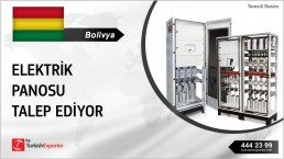 LOW VOLTAGE PANELS IMPORT REQUEST FROM BOLIVIA