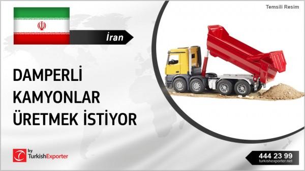 TIPPER TRUCKS OFFER REQUEST FROM IRAN