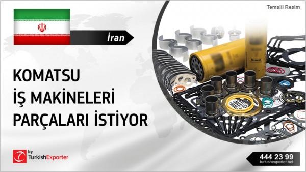 KOMATSU HEAVY MACHINERY SPARE PARTS INQUIRY FROM IRAN