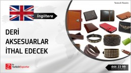 LEATHER ACCESSORIES IMPORT INQUIRY FROM UNITED KINGDOM