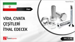 RFQ FOR FASTENERS FROM IRAN