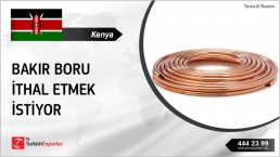 Copper Tubes for Medical Purposes Import Inquiry from Kenya