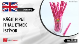 Paper Straws Wholesale Import Inquiry from United Kingdom