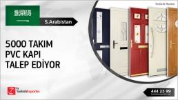 Pvc Doors Regular Import Inquiry from Saudi Arabia