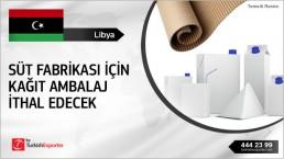 Kraft Liner Corrugated Board to Import to Libya