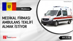Ambulances Required for a Big Project in Moldova