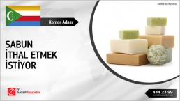 Soaps FCL Base Import Inquiry from Comoros Islands