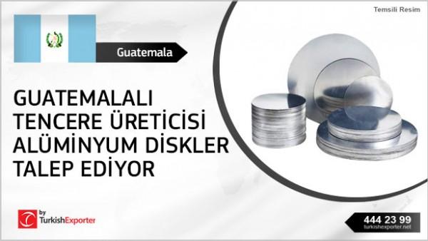 Aluminium Circles for kitcheneare manufacturing needed in Guatemala
