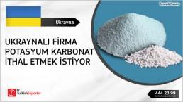 Potassium carbonate potash monthly regular import to Ukraine