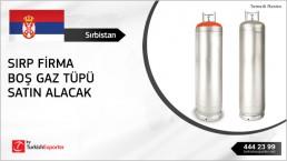 Gas cylinder empty bottle – Serbia