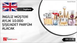 Perfumes importing to  United Kingdom