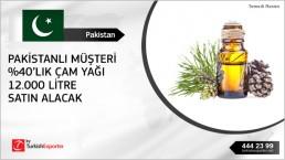 Pine oil import