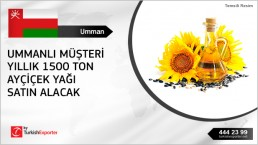 Refined sunflower oil to import
