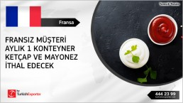 Mayonnaise and ketchup to import – France