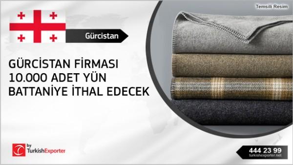 Georgia – Wool Blankets importation