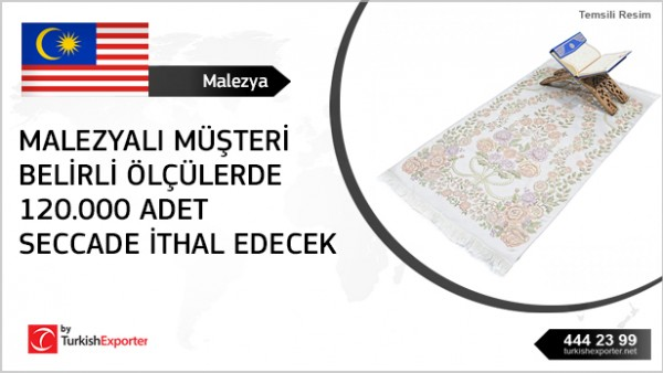 Prayer rug buying request – Malaysia